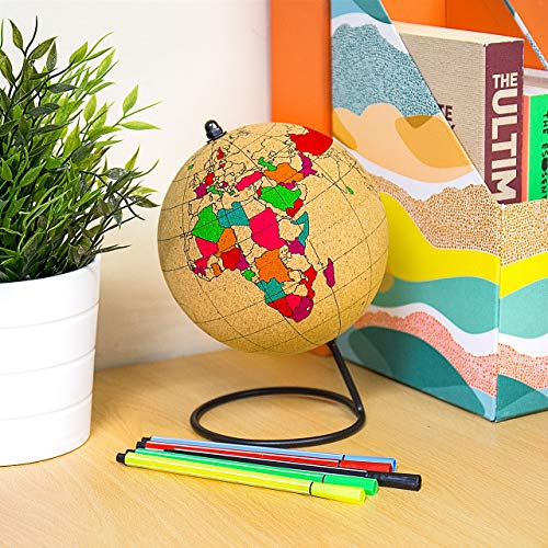 Gift Republic Couleur Globe, Liège, Marron, 14 x 14 x 20.9 cm de Gift Republic