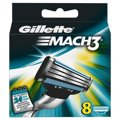 Gillette Lot 8 lames Mach 3 de Gillette