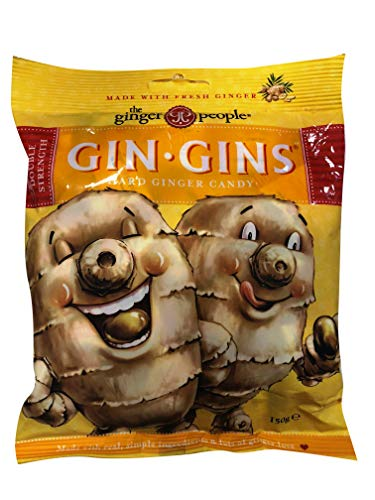 The Ginger People Gin Gins Double Strength Hard Ginger Candy 150g de Ginger People