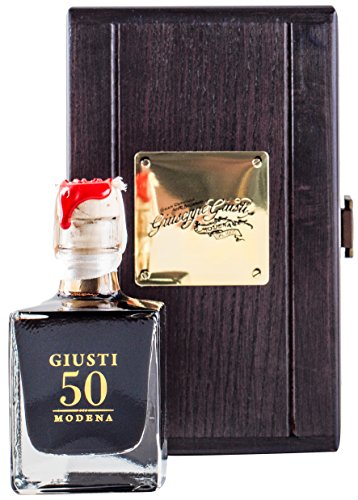 Balsamic Vinegar of Modena RESERVE 50 - Case Wooden - 100 ml de Giuseppe Giusti