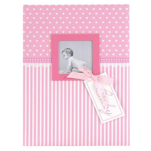 Goldbuch Album de bébé Sweetheart Fille, 30 x 31 cm 60 Pages avec Pergamin, Impression d'art, Rose, Sweetheart Rosa, 21x28 cm de Goldbuch