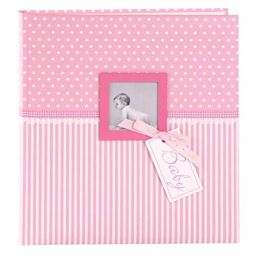 Goldbuch Album de bébé Sweetheart Fille, 30 x 31 cm 60 Pages avec Pergamin, Impression d'art, Rose, Sweetheart Rosa, 30x31 cm de Goldbuch