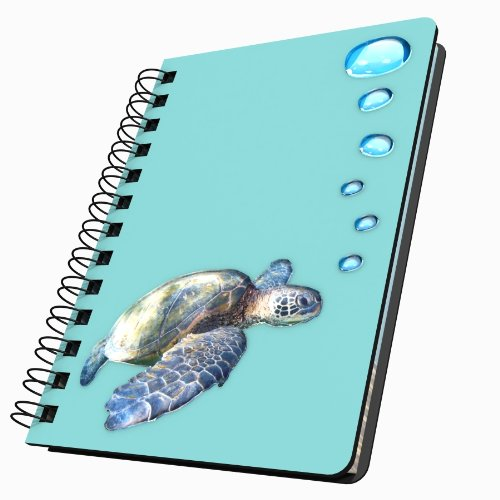 GOT Yo Gifts Tortue de mer en acrylique Journal de Got Yo Gifts