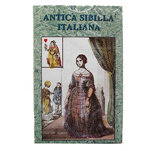Antica Sibilla Italiana Oracle, 32 Voyance Cards avec Instructions en Italien de Green Cross Toad