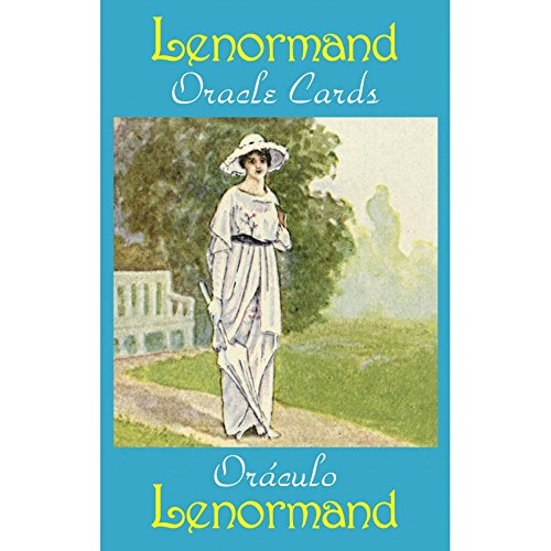 Lenormand Oracle Cards, 36 Cartes de Voyance avec Instruction Multilingue de Green Cross Toad
