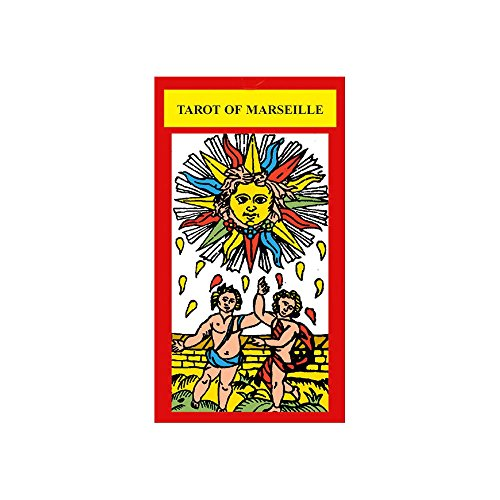Tarot of Marseille, 78 Cartes de Divination avec Instructions Multilingues (Standard) de Green Cross Toad