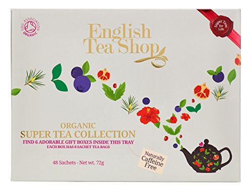 English Tea Shop Sélection Super-Fruits 48 Sachets d'Infusions/de Rooibos Bio 96 g de Grocery Centre