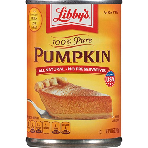 Libby's 100% Pure Pumpkin Pie Filling 425g (Pack of 4) de Grocery Centre