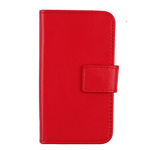 "Gukas Etui Cuir Case Pour Hisense F20 5.5"" Housse Coque PU Leather Cover Flip Protection Portefeuille Wallet Rouge de Gukas"