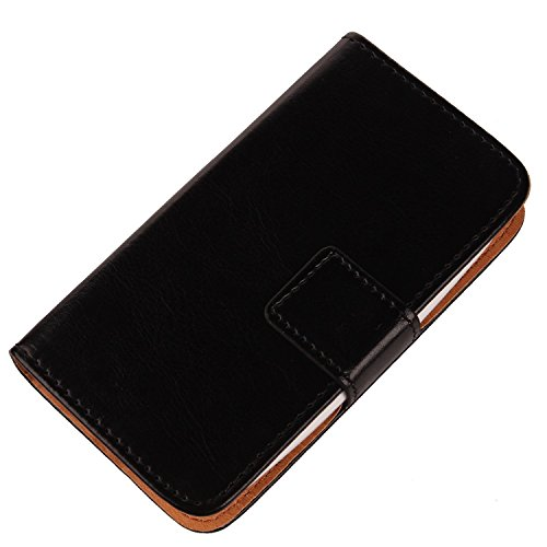 "Gukas Etui Cuir Case Pour Hisense King Kong II C20 5"" Housse Coque PU Leather Cover Flip Protection Portefeuille Wallet Noir de Gukas"