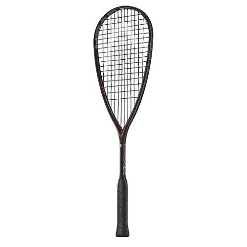 HEAD Graphene Touch Speed Raquette de squash avec cordage, 211057, noir/rouge de HEAD