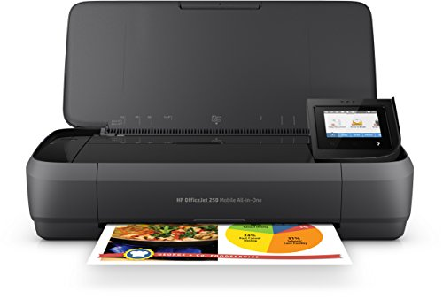HP Officejet Mobile 250 Imprimante Portable Multifonction Jet d'encre Couleur (10 ppm, 4800 x 1200 Ppp, USB, WiFi) de HP