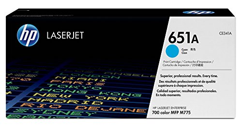 Toner Cartridge 651a Cyan de HP