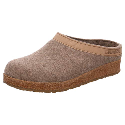 Haflinger Michl 711033, Chaussons mixte adulte - Marron-TR-H4-136, 44 EU