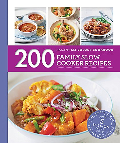 Hamlyn All Colour Cookery: 200 Family Slow Cooker Recipes: Hamlyn All Colour Cookbook de Hamlyn