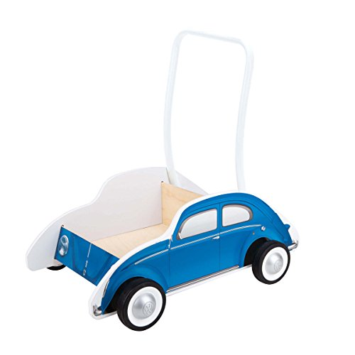 Trotteur Coccinelle bleu de Hape International