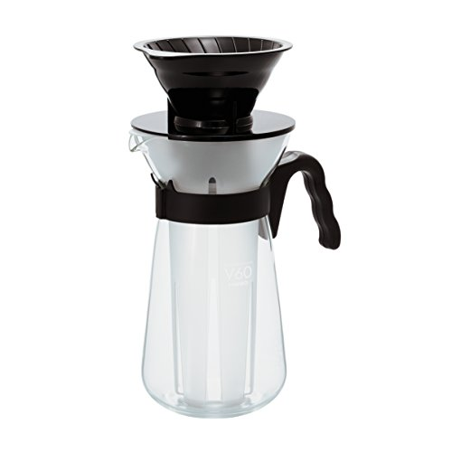 Hario V60 Ice and Hot Coffee Maker Drip Glass Dripper 700ml VIC-02 (japan import) de Hario