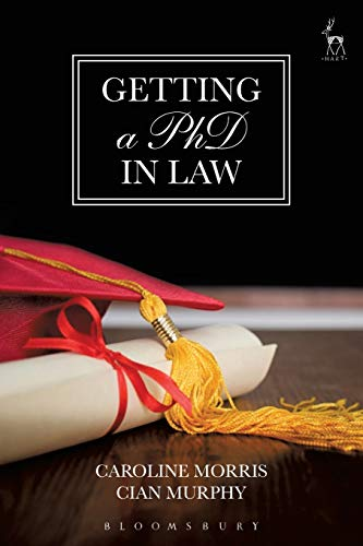 Getting a PhD in Law de Hart Publishing