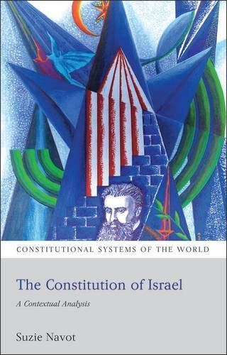 The Constitution of Israel: A Contextual Analysis de Hart Publishing