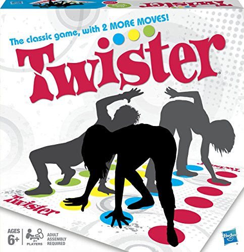 Hasbro - Twister [Parent] Jeu de société Version Anglais One Size One Colour de Hasbro Gaming