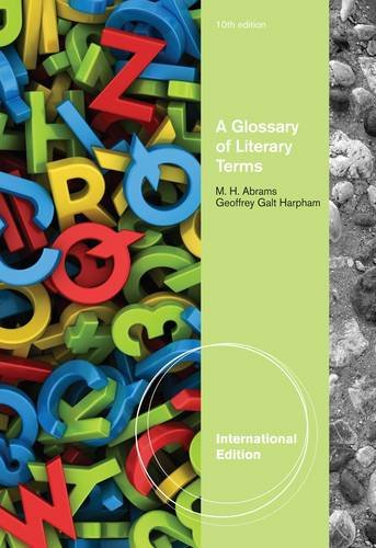 Glossary of Literary Terms de Heinle & Heinle Publishers Inc.,U.S.