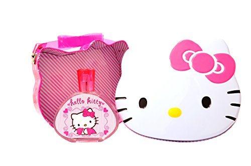 Hello Kitty Eau de toilette vaporisateur et métal Lunch Box, 100 ml de Hello Kitty