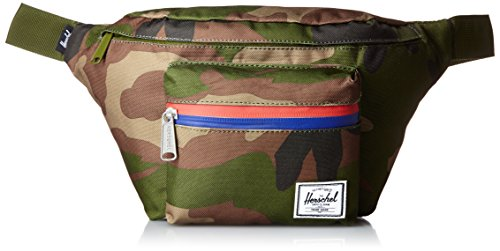 Herschel Supply Company Seventeen Sport Tour de Taille Lot, 45,7 cm, Woodland Camo/Multi Zipper (Multicolore) - 10017-00699-OS de Herschel
