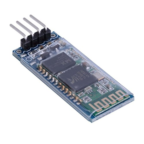 HiLetgo HC-06 RS232 4 Pin Wireless Bluetooth Serial RF Transceiver Module Bi-Directional Serial Channel Slave Mode for Arduino de HiLetgo