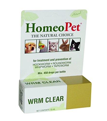 HomeoPet Solution contre WORM clair de HomeoPet