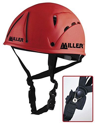 Honeywell 1007048 Miller Helmet, Medium, Red de Honeywell Safety