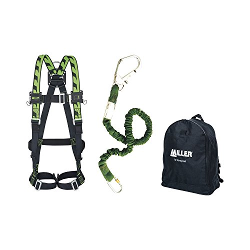 Honeywell 1033871 Miller H-Design Duraflex 2Pts Rapco Backpack Kit de Honeywell Miller