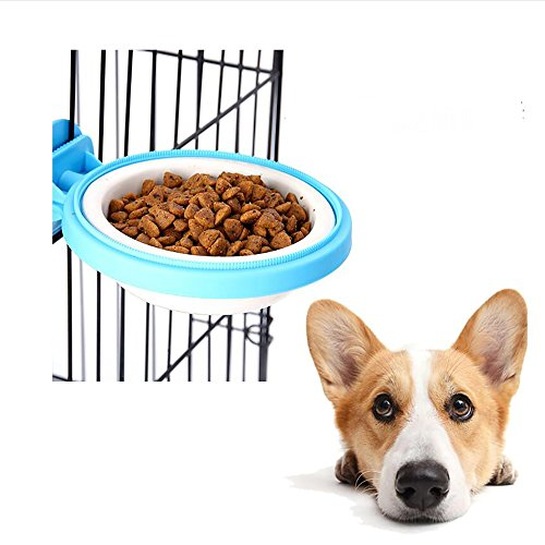 """Cage Dog Bowl Bowl Cat Cage Special Dog Food Basin Suspension Thickening Non - Slip Pet Supplies , E , S- Trumpet"" de HongXJ"