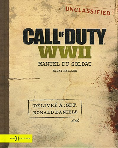 Call of Duty WWII - Manuel du soldat de Hors Collection