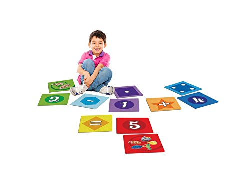 """House of Kids 11412 Dalles Chiffres / Numbers Tiles - 30 PC Polyester Multicolore 29 x 0,2 x 29 cm"" de House of Kids"