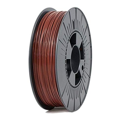 ICE FILAMENTS ICEFIL1ABS021 ABS Filament, 1.75 mm, 0.75 kg, Brave Black de ICE FILAMENTS