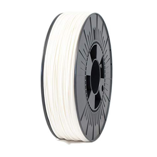 ICE FILAMENTS ICEFIL1PLA005 PLA Filament, 1.75 mm, 0.75 kg, Wondrous White de ICE FILAMENTS