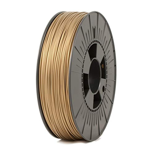 ICE FILAMENTS ICEFIL1PLA107 PLA Filament, 1.75 mm, 0.75 kg, Groovy Gold de ICE FILAMENTS