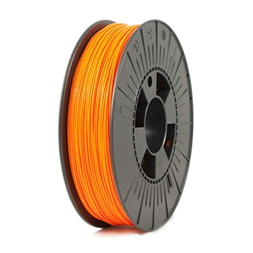 ICE FILAMENTS ICEFIL1PLA112 PLA Filament, 1.75 mm, 0.75 kg, Obstinate Orange de ICE FILAMENTS