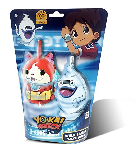 IMC Toys- Talkie Walkie Jibanyan & Whisper Yo Kai Watch, 396524 de IMC Toys