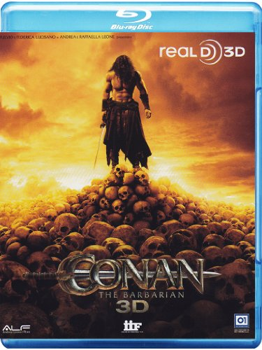 Conan-The Barbarian [3D] [Import Italien] de Iif Home Video