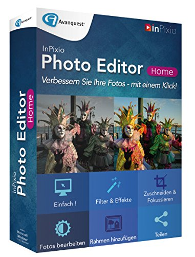 InPixio Photo Editor Home [import allemand] de InPixio