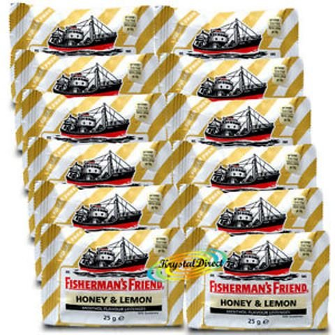 BOX FISHERMAN'S FRIEND LIMON MEL 12 BOÎTES 25 GR de Inconnu