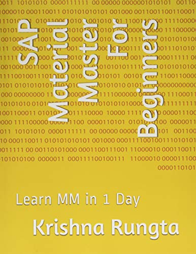SAP Material Master For Beginners: Learn MM in 1 Day de Independently published