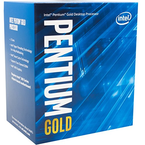 Intel BX80684G5600 Processeur Pentium G5600 Coffee Lake 3.9GHz/3Mo LGA1151 de Intel