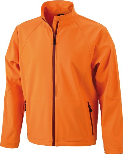 """James & Nicholson Softshelljacke - Blouson Homme, Orange (orange) - Medium (Taille fabricant: Medium)"" de JAMES & NICHOLSON"
