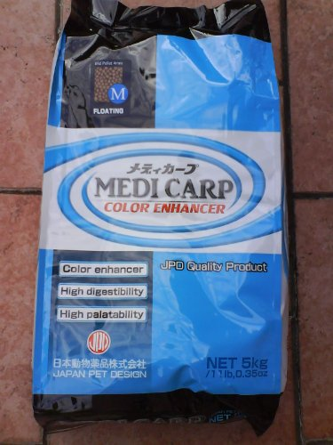 medicarp Color Enhancer Doublure Couleur pour Koi 10 kg Medium de Japan Pet Drugs