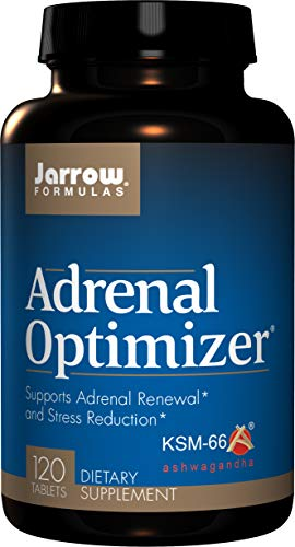 Jarrow Formulas Optimiseur Adrénal (Adrenal Optimizer) x120caps - Fatigue Adrénale de Jarrow Formulas