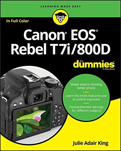 Canon EOS Rebel T7i/800D for Dummies de John Wiley & Sons Inc