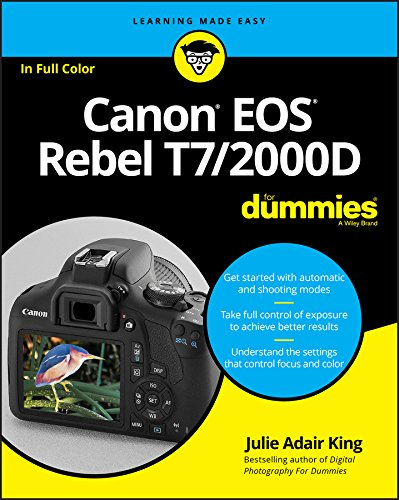 Canon Eos Rebel T7/2000d for Dummies de John Wiley & Sons Inc