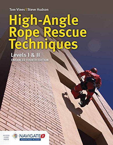 High-angle Rope Rescue Techniques: Levels I & II de Jones and Bartlett Publishers, Inc